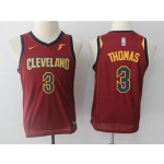 Cavaliers #3 Isaiah Thomas Red Youth Nike Swingman Jersey