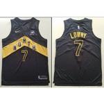 NBA Raptors #7 Kyle Lowry Black City Edition Nike kids Jersey
