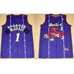 NBA Toronto Raptors Tracy Mcgrady #1 Purple kids jersey