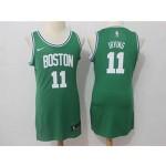 Celtics #11 Kyrie Irving Green Women Nike Swingman Jersey