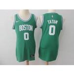 Celtics #0 Jayson Tatum Green Women Nike Swingman Jersey