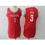 Rockets #3 Chris Paul Red Women Nike Swingman Jersey