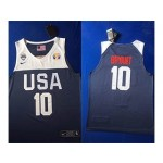 NBA USA Bryant #10 2019 FIBA Basketball World Cup navy blue jersey