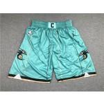 NBA Charlotte Hornets Green Shorts