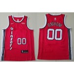 NBA Portland Trail Blazers #00 Carmelo Anthony Red Throwback new Jersey