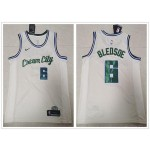 NBA Milwaukee Bucks #6 Eric Bledsoe Cream 2020 City Edition Nike Swingman Jersey