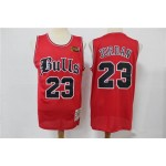 Bull Jordan #23 Red Red Old England Retired Limited Edition Jersey