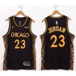 Bulls #23 Michael Jordan Black 20-21 City Jersey