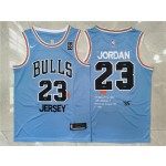 NBA Chicago Bulls #23 Michael Jordan Blue Nike 85 Swingman Jersey