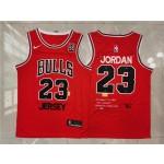 NBA Chicago Bulls #23 Michael Jordan Red Nike 85 Swingman Jersey