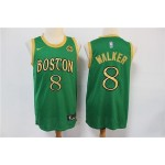 NBA Boston Celtics #8 Kemba Walker Green Gold 2019-20 City Edition Nike Swingman Jersey