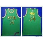 NBA Boston Celtics #34 Paul Pierce Green Gold 2019-20 City Edition Nike Swingman Jersey