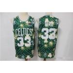 Boston Celtics Bird #33 Green Tear Up Pack Swingman Jersey