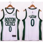 NBA Boston Celtics #0 Jayson Tatum white 20-21 new Swingman Jersey