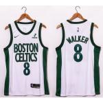 NBA Boston Celtics #8 Kemba Walker white 20-21 new Swingman Jersey