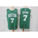 NBA Boston Celtics #7 Jaylen Brown Green 2021 Nike Swingman Jersey