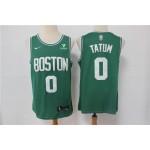 Men's Boston Celtics #0 Jayson Tatum Green 2021 Nike Swingman Stitched NBA Jersey