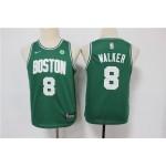 Youth Celtics #8 Kemba Walker Green Swingman Jersey