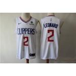 NBA Los Angeles Clippers #2 Kawhi Leonard White Nike Swingman Jersey