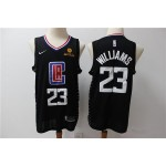 NBA Los Angeles Clippers #23 Lou Williams Black Nike jersey