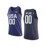 NBA USA Blue Nike Customized Jersey