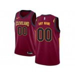 Cavaliers red Nike Customized Jersey