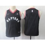 Raptors Black Kids Nike Customized Jersey
