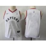 Raptors white Kids Nike Customized Jersey