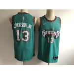 NBA Memphis Grizzlie #13 Jackson Jr. Green new Jersey