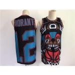 Men's Memphis Grizzlies #12 Morant big face Black 2021 NBA Jersey