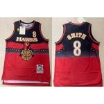 NBA Atlanta Hawks #8 Steve Smith Red 1996-97 Hardwood Classics Jersey
