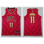 NBA Atlanta Hawks #11 Trae Young Red Nike Jersey