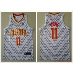 NBA Atlanta Hawks #11 Trae Young White Nike Jersey