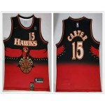 NBA Atlanta Hawks #15 Vince Carter Red Retro Nike Jersey