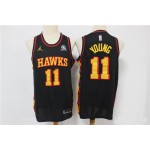 NBA Atlanta Hawks #11 Trae Young Black 2020 Nike Swingman Jersey