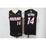 NBA Miami Heat #14 Tyler Herro Black Nike Swingman Jersey