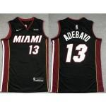 NBA Miami Heat #13 Bam Adebayo Black 2020 Nike Swingman Jersey