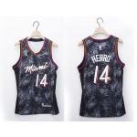 NBA Miami Heat #14 Tyler Herro Black 2020-21 Fashion Jordan NBA Jersey