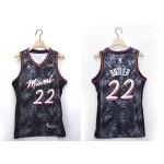NBA Miami Heat #22 Jimmy Butler Black 2020-21 Fashion Jordan NBA Jersey