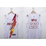 NBA Miami Heat #22 Jimmy Butler White 2020-21 Fashion NBA Jersey