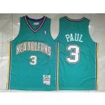 New Orleans Hornets #3 Chris Paul 2005-06 Teal Hardwood Classics Jersey