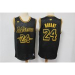 NBA Los Angeles Lakers #24 Kobe Bryant Black Big Snake Black Mamba Jersey