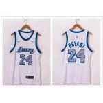 NBA Lakers #24 Kobe Bryant White 2021 City Edition Nike Swingman Jersey