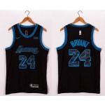 NBA Lakers #24 Kobe Bryant Black 2020-21 City Edition Nike Swingman Jersey