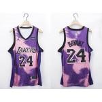 NBA Lakers #24 Kobe Bryant Purple 2020-21 Fashion NBA Jersey