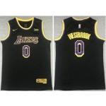 Los Angeles Lakers #0 Russell Westbrook 2020-21 Black Earned Edition Swingman Jersey
