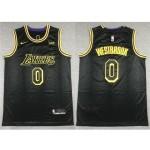 Los Angeles Lakers #0 Russell Westbrook Black City Edition Swingman Jersey
