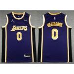 Los Angeles Lakers #0 Russell Westbrook 2020-21 Purple Statement Swingman Jersey