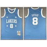 Lakers #8 Kobe Bryant Blue 2004-05 Hardwood Classics Jersey