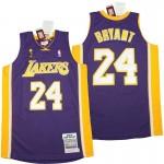 Lakers #24 Kobe Bryant Puple 2008-09 Throwback Jerseys